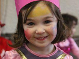 Unsere Prinzessin am vierten Geburtstag