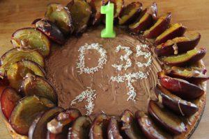 milchfreier Geburtstagskuchen