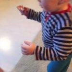 Welches Geschenk mein Sohn gemacht hat - Laufen lernen