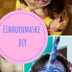 Einhorn : Individuelle Maske aus Gipsbinden DIY