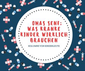 kranke Kinder Kinderarzt gesundheit der Kinder omas senf kolumne Experte für Kindergesundheit Gesundheit