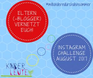 Instagram Challenge #mitkinderndurchdensommer