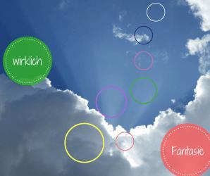 Fantasie und Wirklichkeit über Geschichten
