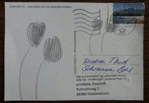 Postando Postkarte Postkarten