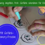 Gefühle einordnen: Memory Freebie im Herbst - gratis Download