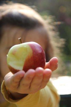 Apfel auch Nahrungsmittel können zu Anaphylaktischen Schocks führen