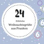 Weihnachtsgrüße aus Franken - wie die Christbaumkugeln entstanden sind oder: ein gutes Ziel