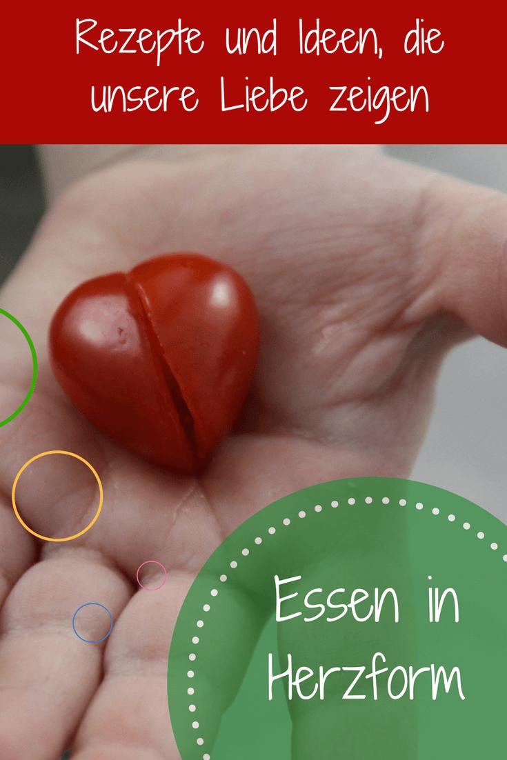 Gemüse, Obst und gebackenes: In Herzform schmeckt es gleich viel besser: Hier sind vier Ideen und Rezepte für Essen, das als Herz daherkommt
