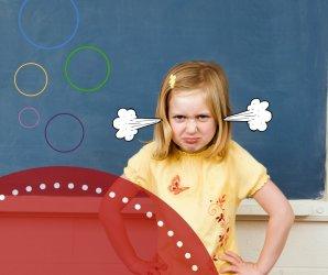 Wütende Kinder Wut aushalten