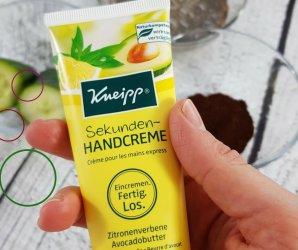 kneipp sekunden handcreme avocado zitronenverbene