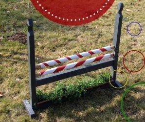 Hindernisse Hürden für Kinder selber bauen DIY