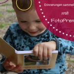 Anzeige Collecting moments - Erinnerungen mit den Kindern teilen: das RUCK ZUCK Fotobuch von FotoPremio