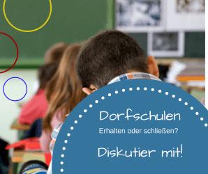 Dorfschulen schließen oder erhalten