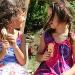 Unser Sommer mit den HiPP Kinder Eiszapfen und eine Bastelanleitung für unser Erinnerungsheft
