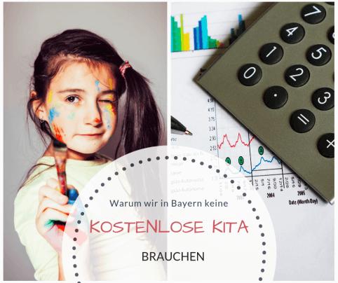 Familiengeld Bayern kostenloser Kindergarten