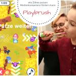 Zähne putzen ohne Zwang und dabei Medienkompetenz vermitteln - Playbrush Zahnbürste für Kinder