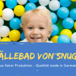 Bällebad von snugo - Spielspaß total made in Germany