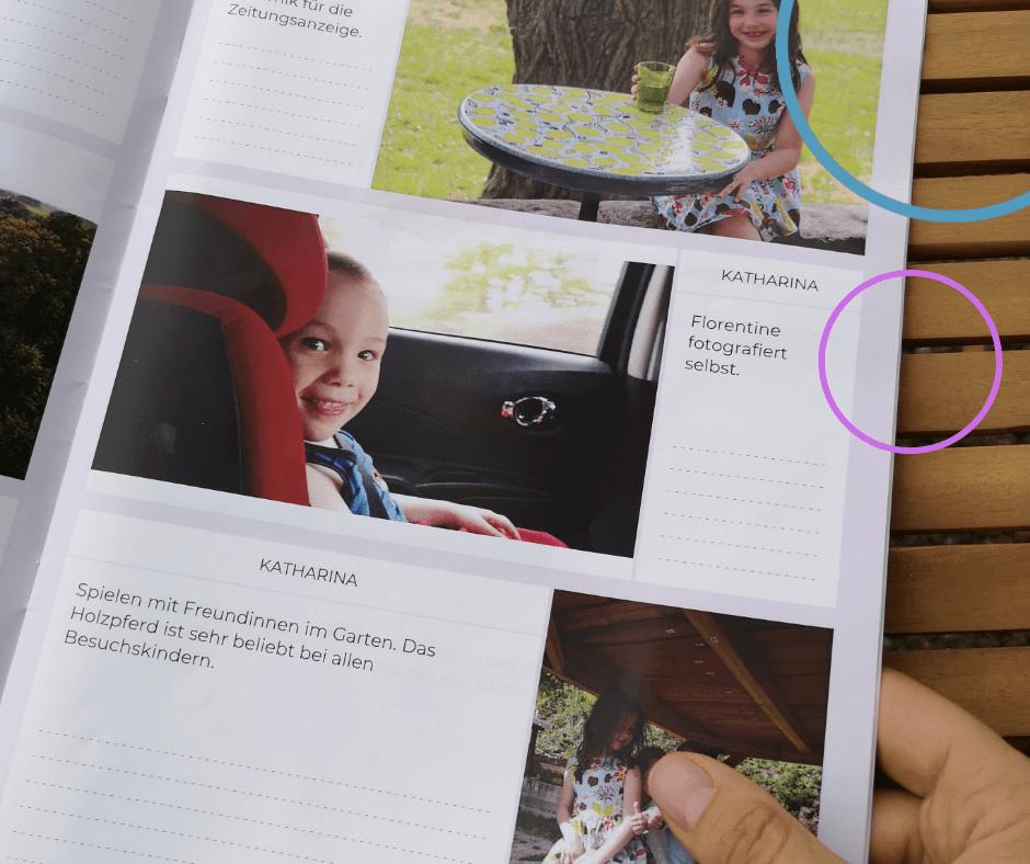 Fotogeschenk Großeltern - Neveo ein Familienalbum in jedem Monat