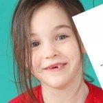Zahnfee - Brief, Geschenk und Zertifikat