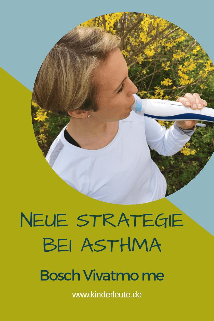 Mit dem Bosch Vivatmo me das Asthma besser im GRiff