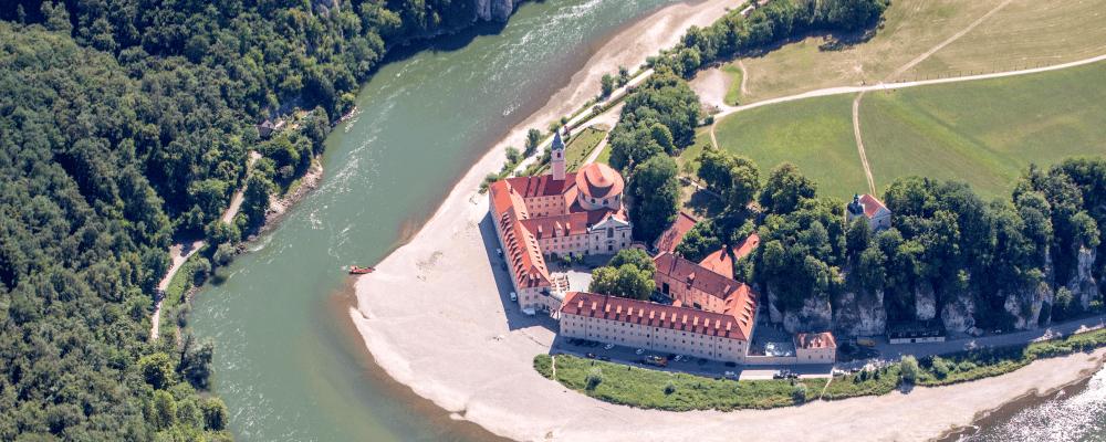 Bayerisches-Golf-und-Thermenland Kloster Weltenburg